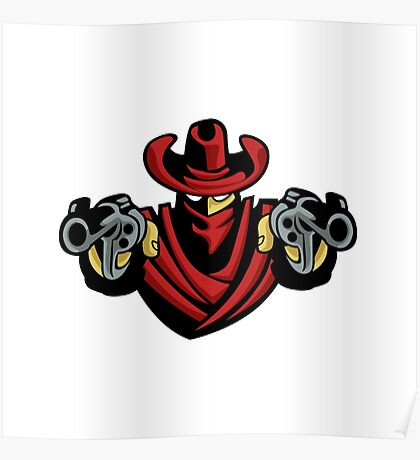 Outlaw Cowboy  Poster