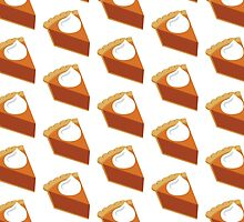 Hipster Pumpkin Pie Pattern by HolidaySwaggT