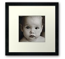 Say me Framed Print