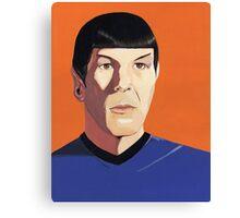 Mr Spock Canvas Print