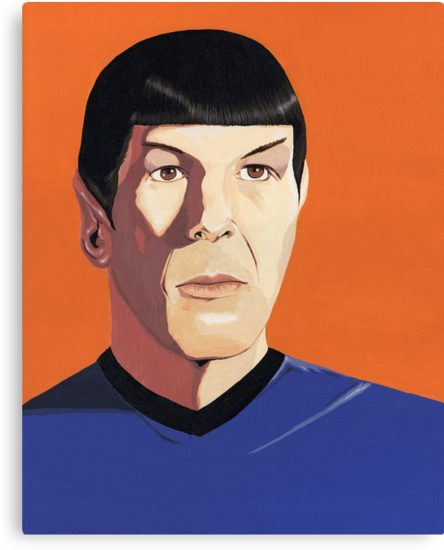 Mr Spock by Andy  Housham
