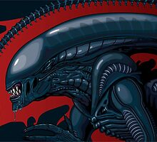 Graphic Alien by pikapow1