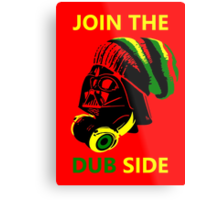 Dub Vader (green-yellow) Metal Print