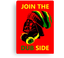 Dub Vader (green-yellow) Canvas Print