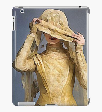 Here Comes the Watercolor Bride iPad Case/Skin
