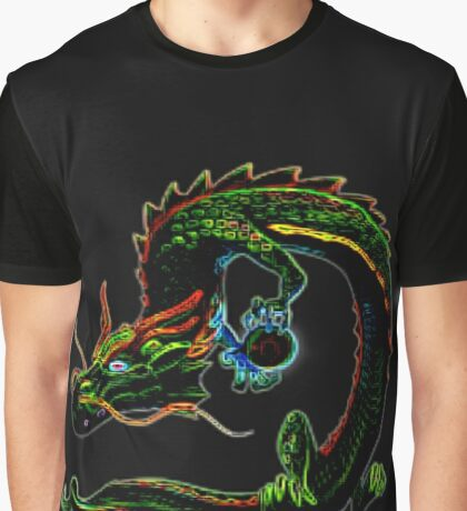 Mystical Dragon Graphic T-Shirt