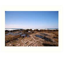 Shelly Beach Lorne Art Print