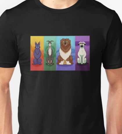 Warrior Cats but Dogs Unisex T-Shirt