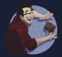 Markiplier & Tiny Box Tim (shirt only) by mirzers