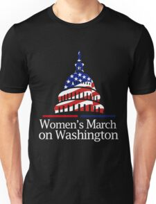 women march Unisex T-Shirt