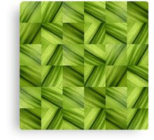 Leaf Collage Canvas Print