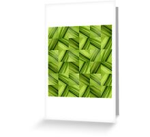 Leaf Collage Greeting Card