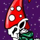 Skeleton Gnome  by Sookiesooker