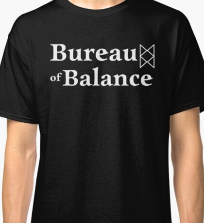 Bureau of Balance - White Classic T-Shirt