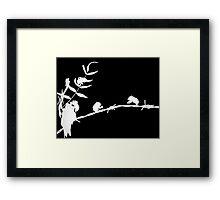 Cicadas - Photogram Framed Print