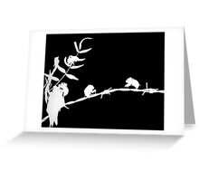 Cicadas - Photogram Greeting Card