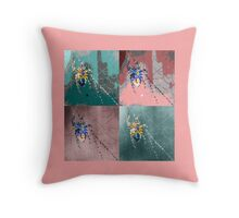 Incy Wincy Bejewelled Spider Throw Pillow