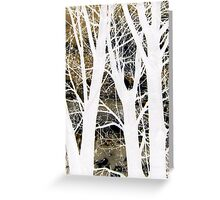 Ghosts Greeting Card
