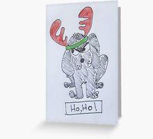Ho Ho. Greeting Card