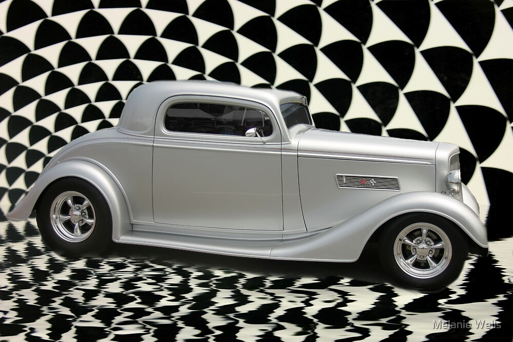 34 Chevy Coupe by Melanie Wells
