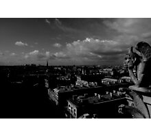 The Gargoyle Watches Photographic Print