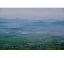 Mists over Tuscany Photographic Print