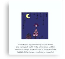 A Night Of Silly Canvas Print