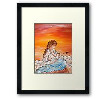Legame continuo Framed Print