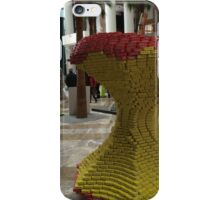Canstruction, Can Sculptures, Apple Sculpture, Brookfield Place, New York City  iPhone Case/Skin