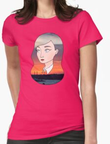 Evenfall Twilight Womens Fitted T-Shirt