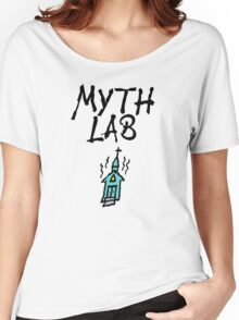 MYTH LAB  (Light background) Women's Relaxed Fit T-Shirt