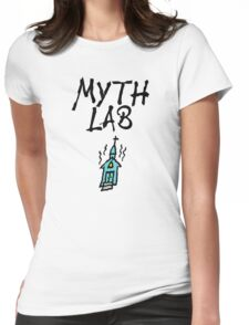 MYTH LAB  (Light background) Womens Fitted T-Shirt