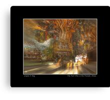 The Past Alive in the Present in Ghana Fine Art Poster Canvas Print
