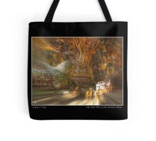 The Past Alive in the Present in Ghana Fine Art Poster Tote Bag