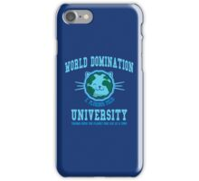 World Domination University iPhone Case/Skin
