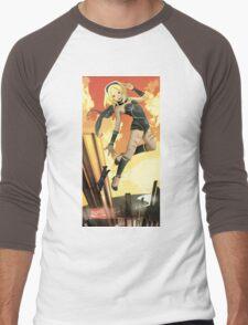 Kat | Gravity Rush Tribute Men's Baseball ¾ T-Shirt
