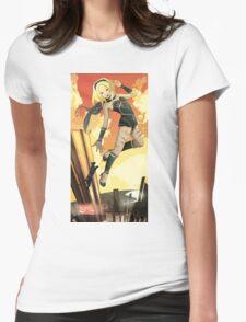 Kat | Gravity Rush Tribute Womens Fitted T-Shirt