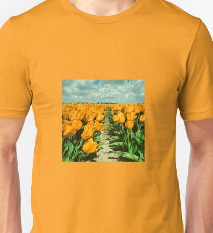 Yellow Tulips  Unisex T-Shirt