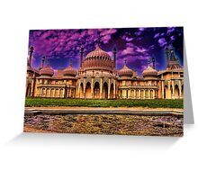 The Royal Pavilion  Greeting Card