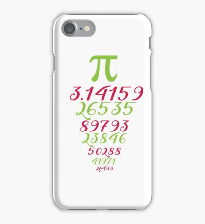 Pi Day iPhone Case/Skin