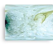 Frost Byte Canvas Print