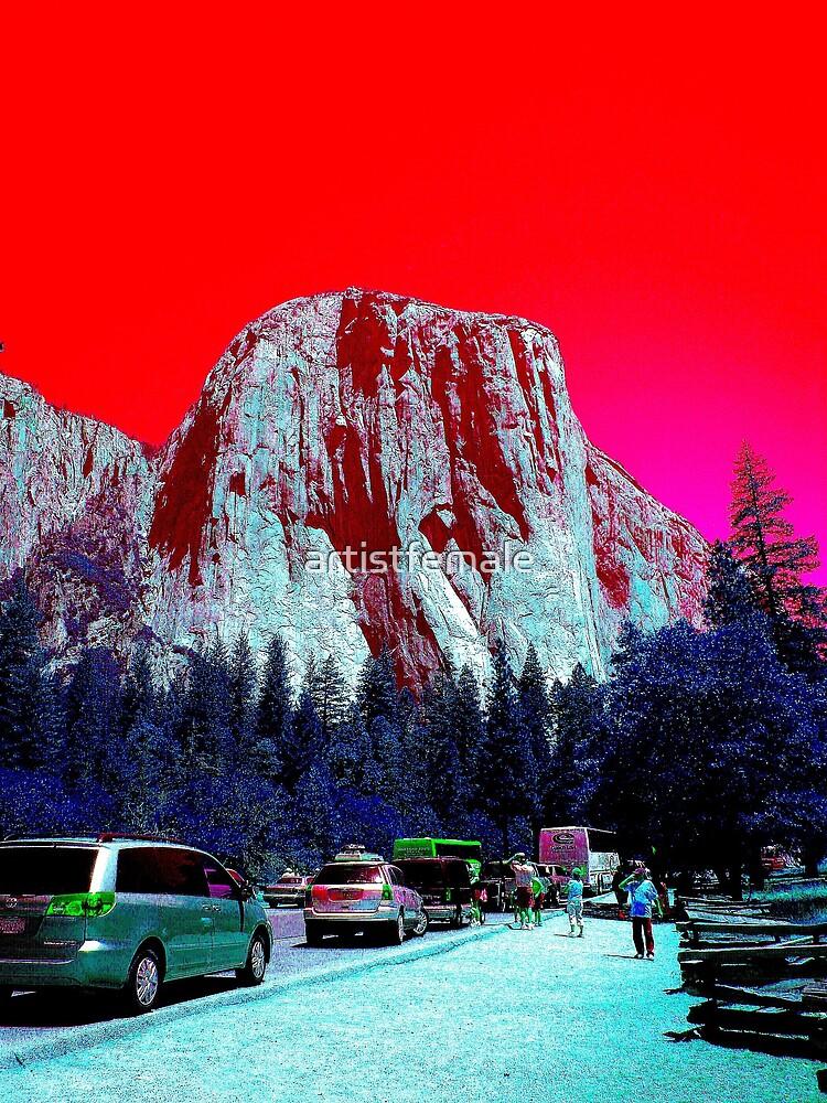 Yosemite Rock by artistfemale