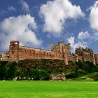 Bamburgh Castle by Bruce Halliburton