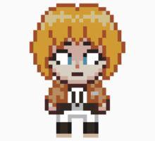 Attack on Titan - Armin Arlert Pixel Sprite - Chibi by geekmythology