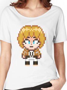 Attack on Titan - Armin Arlert Pixel Sprite - Chibi Women's Relaxed Fit T-Shirt
