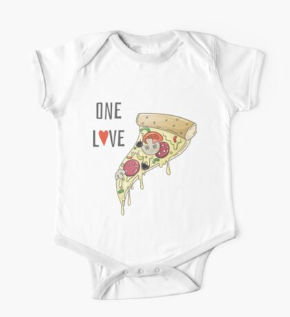 Pizza One Love One Piece - Short Sleeve