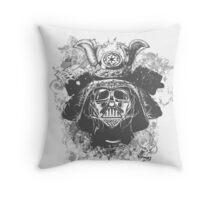 Samurai Vader Hybrid Throw Pillow
