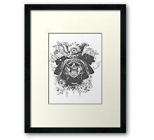 Samurai Vader Hybrid Framed Print