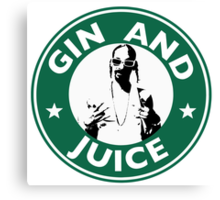 'Sipping on Gin and Juice' Canvas Print