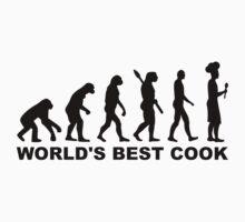 Evolution world's best cook by Designzz